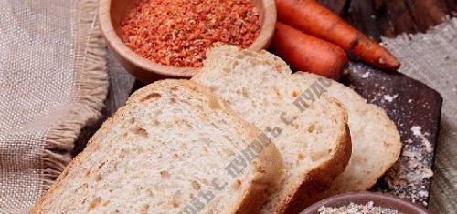 Хлебная смесь «Морковный хлеб с отрубями»