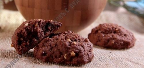 Мучная смесь «Печенье шоколадное с арахисом»